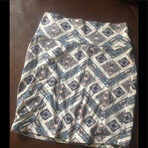 Charolette Russe 90s mini tight tube skirt